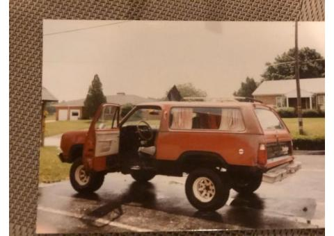Looking for my old 1976 Dodge Ramcharger