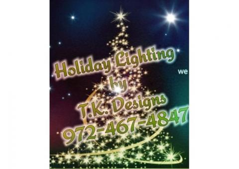 Holiday Lighting Installation & Removal