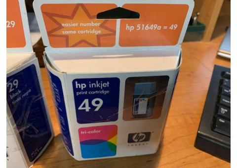 HP Ink Cartridge's (NEW)