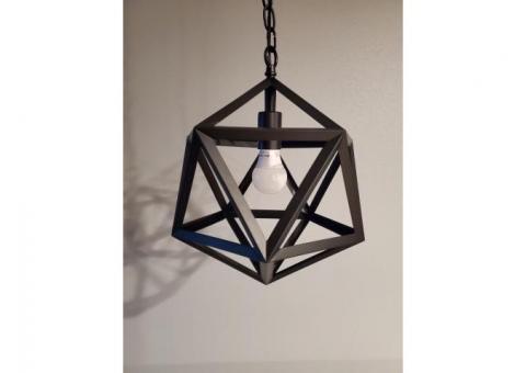 Modern Metal Geometric Pendant Chandelier