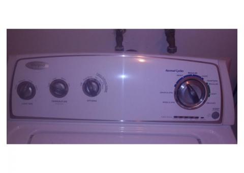 Non-matching washer and dryer